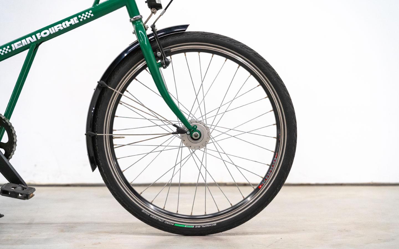 Vélo de ville 24 pouces mixte Jean Fourche