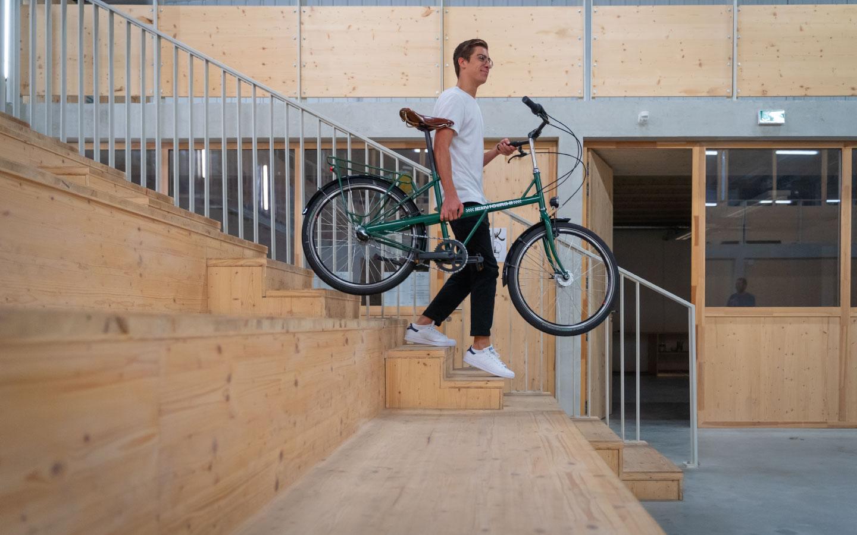 Vélo de ville léger Jean Fourche
