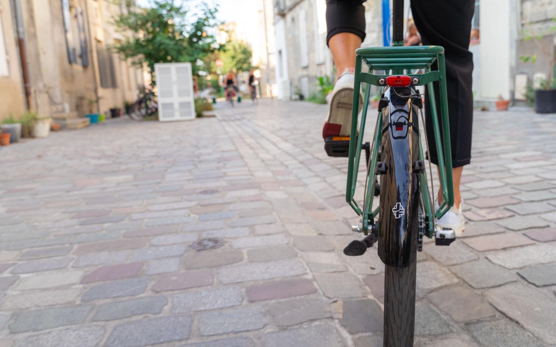 Vélo de ville confortable Jean Fourche