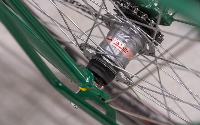 Vélo nexus 3 Jean Fourche