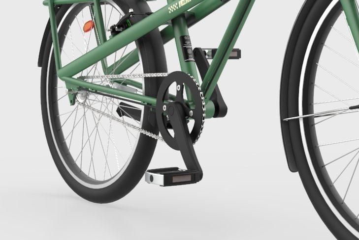 Pare chaîne vélo de ville Jean Fourche