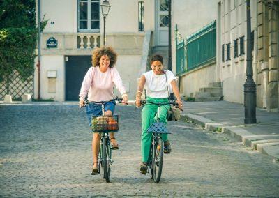 Le vélo rend heureux